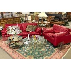 SOLD Roch Bobois Sofa & Chair