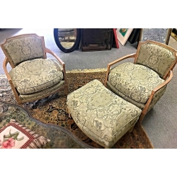 Chairs & Ottoman