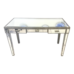 Mirrored Console Desk
