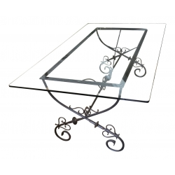 Vintage Iron Dining Table