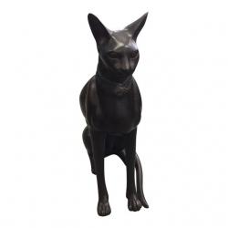 Tall Bronze Sphinx Cat...